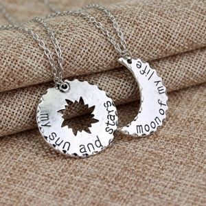 Game of Thrones Khaleesi Sun & Moon Necklace Set